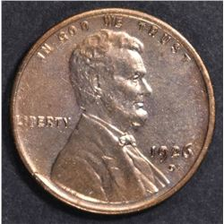1926-D RD LINCOLN CENT  BU
