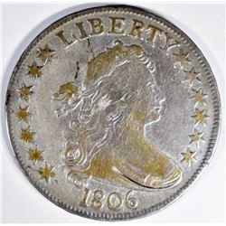 1806 BUST HALF DOLLAR FINE