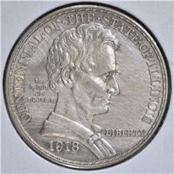1918 LINCOLN COMMEM HALF DOLLAR