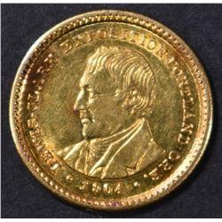1904 LEWIS & CLARK GOLD COMMEM DOLLAR  BU