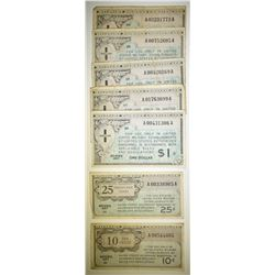 7 SERIES 461 MILITARTY PAYMENT CERTS