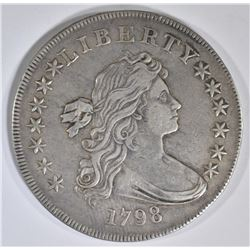 1798 BUST DOLLAR  XF/AU  LARGE EAGLE