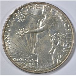 1915-S PAN PAC COMMEM HALF DOLLAR  BU
