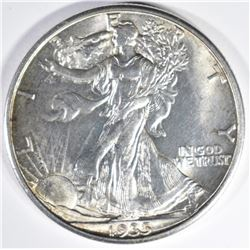 1935-D WALKING LIBERTY HALF DOLLAR GEM BU
