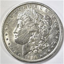 1886-O MORGAN DOLLAR AU