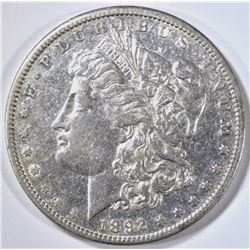 1892-S MORGAN DOLLAR XF+
