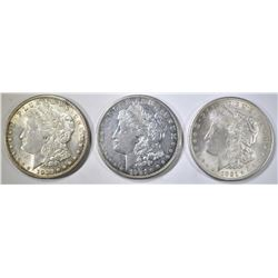NICE CIRC 1921-P-D&S MORGAN DOLLARS