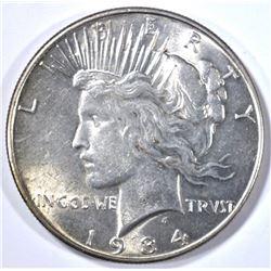 1934 PEACE DOLLAR, BU