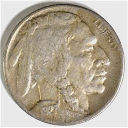 1927-D BUFFALO NICKEL, VF
