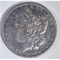 1896-S MORGAN DOLLAR AU/BU