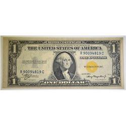 1935-A N. AFRICA $1.00 SILVER CERTIFICATE CU NICE
