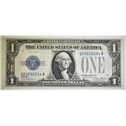 1928 A $1.00 SILVER CERTIFICATE CH CU