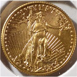 2015 1/10th OUNCE GOLD AMERICAN EAGLE