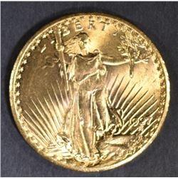 1927 $20 ST GAUDENS GOLD GEM BU