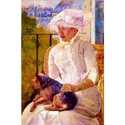 Mary Cassatt - Woman With A Dog