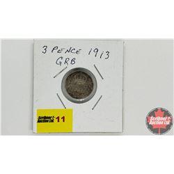 Great Britain 3 Pence 1913