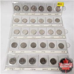 Canada Ten Cent Collection (30): 1942; 1944; 1945; 1946; 1954; 1958; 1941; 1942; 1963; 1964; 1968; 1