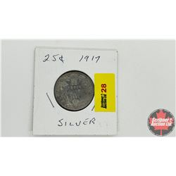 Canada Twenty Five Cent 1917