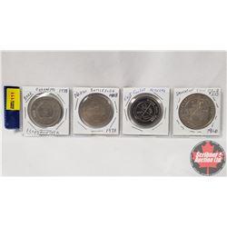 Tokens - Variety (4) : Lloydminster 1978; North Battleford 1978; East Coulee Alberta; Saskatoon Coin