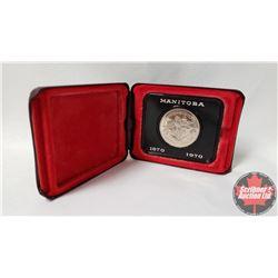 Canada Dollar 1870-1970 Manitoba - Maroon Case