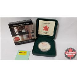 RCM 2001 Proof Dollar National Ballet of Canada Anniversary 50th