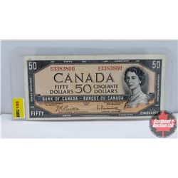 Canada $50 Bill 1954 : Beattie/Rasminsky BH3383800