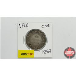 Newfoundland Fifty Cent 1898