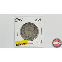 Canada Fifty Cent 1917