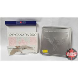 The Official Millennium Keepsake by Canada Post - Celebrate the Year 2000! (Outer Cardboard Sleeve M