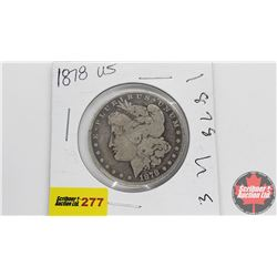 USA Morgan Dollar 1878