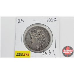 USA Morgan Dollar 1882
