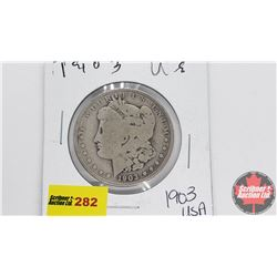 USA Morgan Dollar 1903