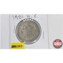 USA Morgan Dollar 1921S