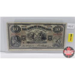 The Bank of Nova Scotia $10 Bill 1935