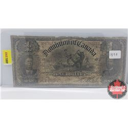 Dominion of Canada 1898 $1 Bill