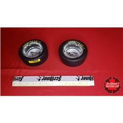 Good Year #1 Eagle Tire Ashtrays (2)