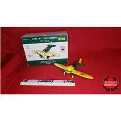 Oliver 1929 Travel Air Model R Airplane Bank (In Box)