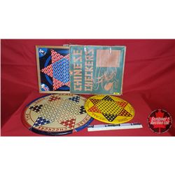 3 Chinese Checkers Boards (1 with Orig. Box)