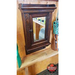 "Wallmount Mirror Front Medicine Cabinet (31""H x 17""W x 6-1/2""D)"