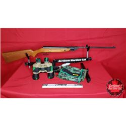 Slavia 624 Pellet Gun & Pair of Bino's in Case (No PAL required)