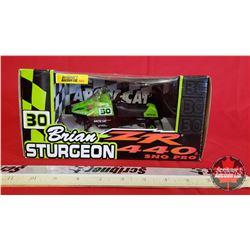 """Diecast Toy : Arctic Cat ZR 440 Signature Edition """"Brian Sturgeon"""" (1:18 Scale)"""