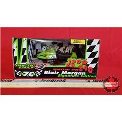 "Diecast Toy : Arctic Cat 1999 ZR 440 Snow Pro Signature Edition ""7C Blair Morgan"" 1/1500(1:18 Scale)"
