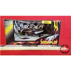 Diecast Toy : Arctic Cat 2003 Saber Cat 1 of 1704 Limited Edition (1:18 Scale)