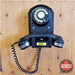 Vintage 1940's Mono Rotary Dial Wall Phone