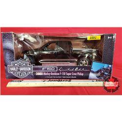 Diecast Toy : Harley Davidson 2001 Harley-Davidson F-150 Super Crew Pickup Ltd Edition (1:18 Scale)