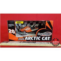 Diecast Toy : Arctic Cat Firecat 2006 Tony Stewart Racing 1 of 2000 (1:18 Scale)