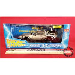 Diecast Toy : Sun Star Back to the Future Time Machine (1:18 Scale)