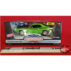 Diecast Toy : American Muscle 1970 Plymouth AAR 'Cuda Collector Edition (1:18 Scale)