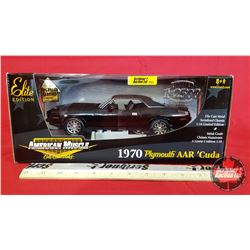 Diecast Toy : American Muscle 1970 Plymouth AAR 'Cuda Elite Edition 1 of 2500 (1:18 Scale)