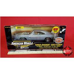 Diecast Toy : American Muscle 1969 Dodge Daytona 20th Anniversary Hemi (1:18 Scale)